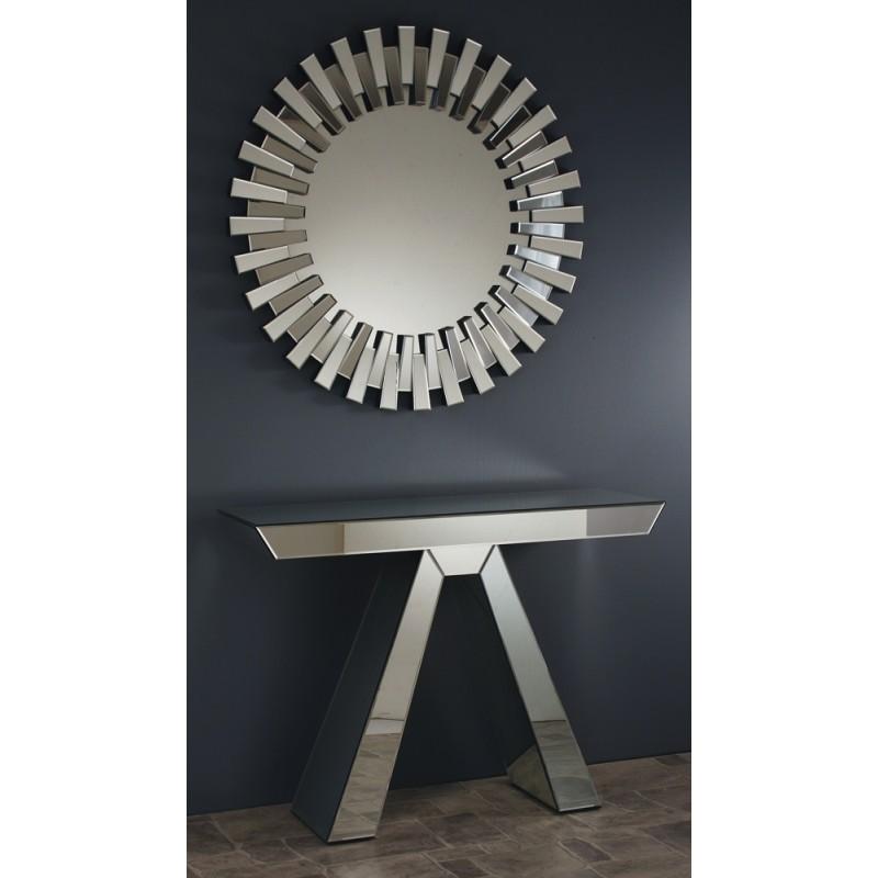 Monaco konsolbord med Spegel Tumba Möbler