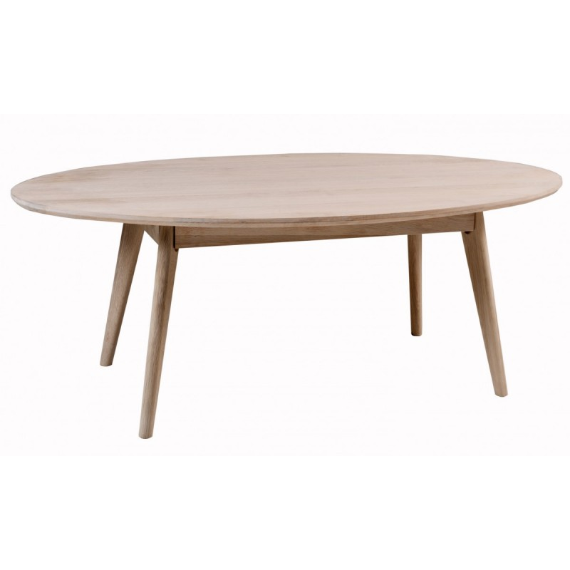Yumi Soffbord Vit oljad ek Tumba Möbler