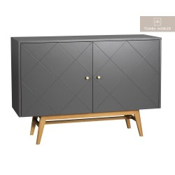 Monterey Sideboard 2D Grå