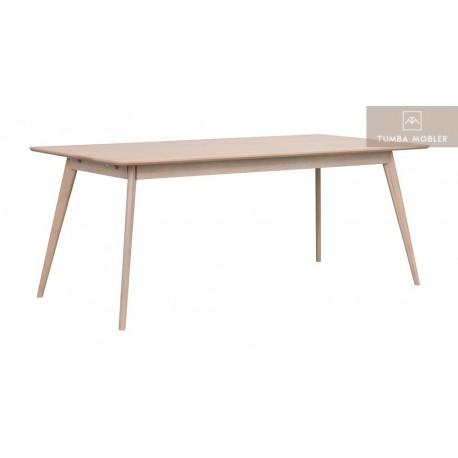 Yumi matbord Rek Vitpigmenterad