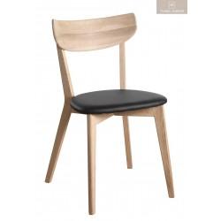 Ami stol Vitpigmenterad svart