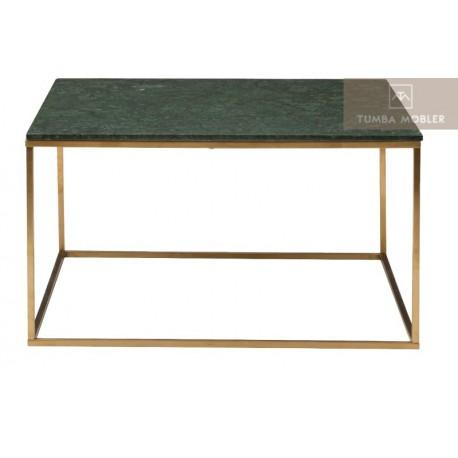 Marble soffbord kvadrat grön