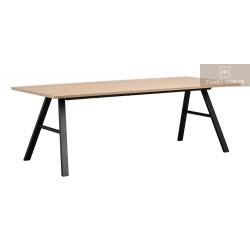 Brigham matbord Vitpigmenterad
