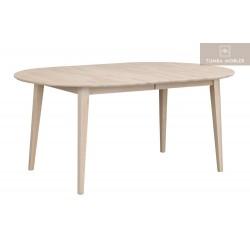Filippa matbord oval vitpegment