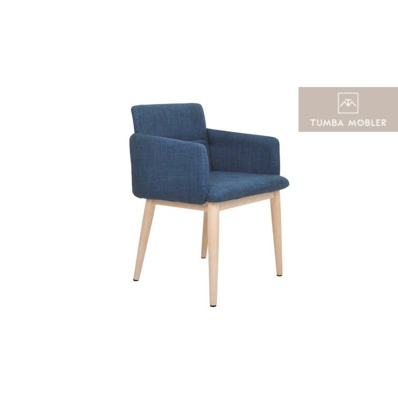 Åbo stol blå