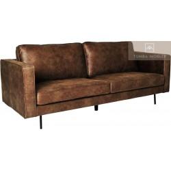 Texas soffa mörkbrun