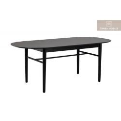 Akita matbord svart