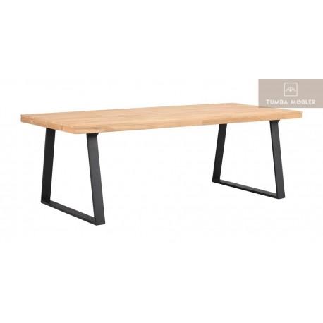 Brooklyn matbord ek u-ben 220 cm