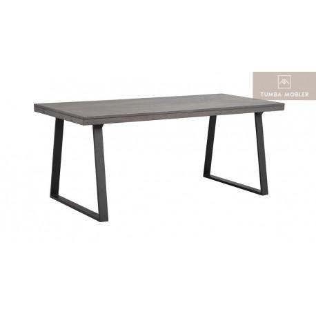 Brooklyn matbord mörkbrun u-ben 170 cm