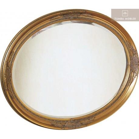 Parma spegel oval