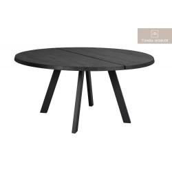 Fred rund matbord svart