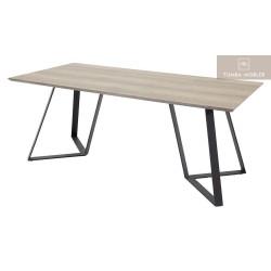 Marina matbord grå