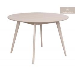 Yumi matbord Vitpigmenterad