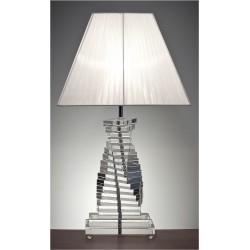 Trappsteg Kristall Bordslampa Stor